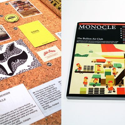 print and pattern, monocle
