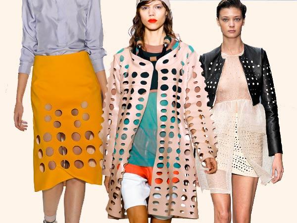 SPring 11 Trend: Holes, Cut-outs, Cynthia Rowley, Marni, Emilio de la Moreno
