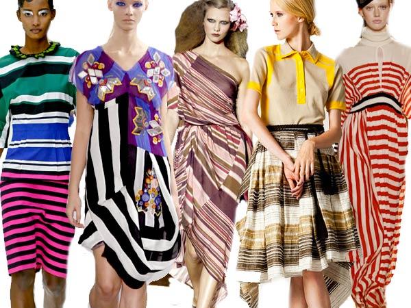 Spring 11 Trend: Stripes, Prada, Louise Gray, Marc Jacobs, Chris Benz, Tsimori Chisato