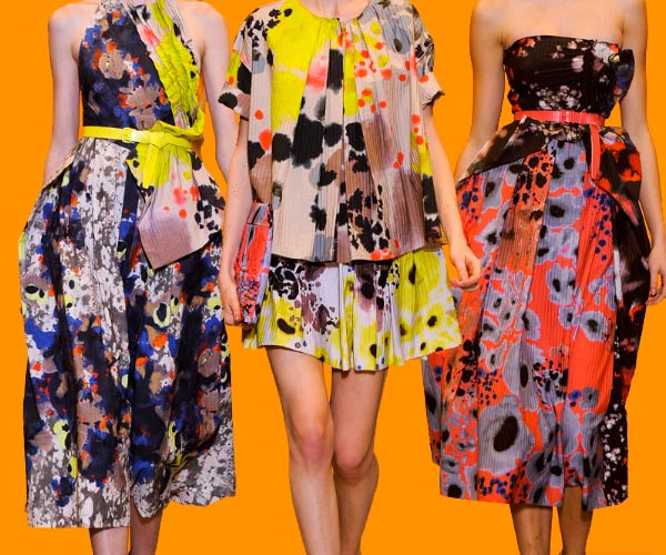Cacharel florals for Spring 11