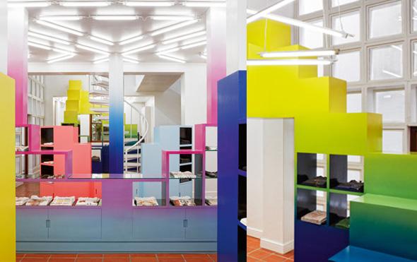 store interior by Rafael de Cárdenas