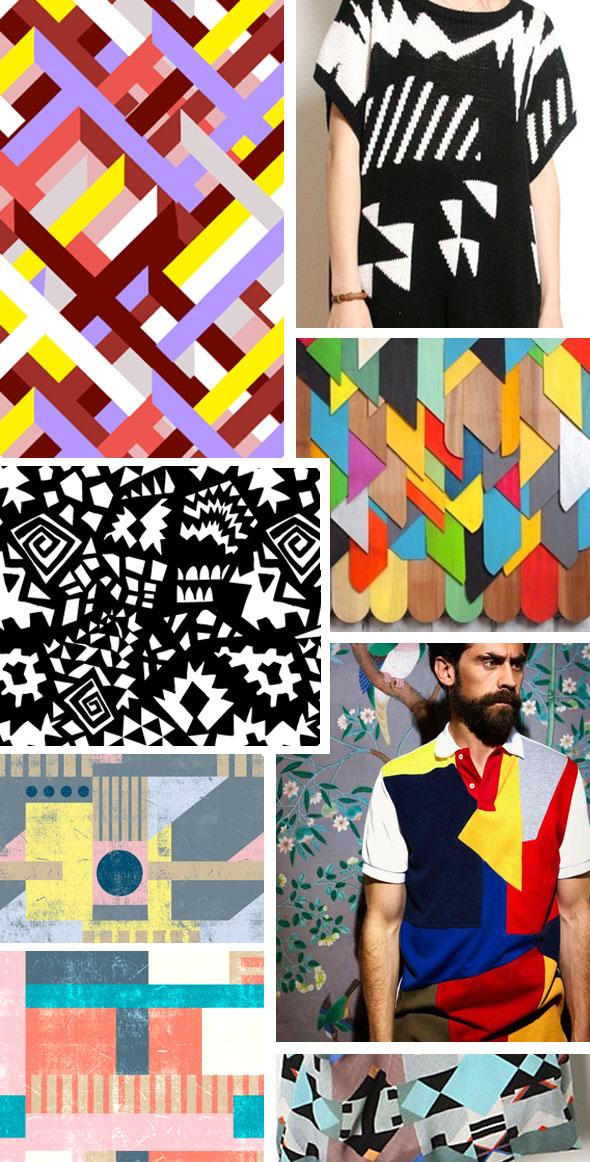 Inspiration Bauhaus Pattern People