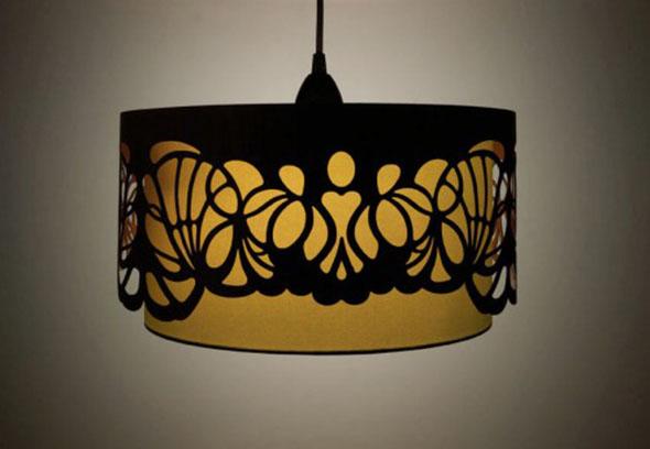 Minjonshop Handmade Wooden Lampshades Dark 500 504