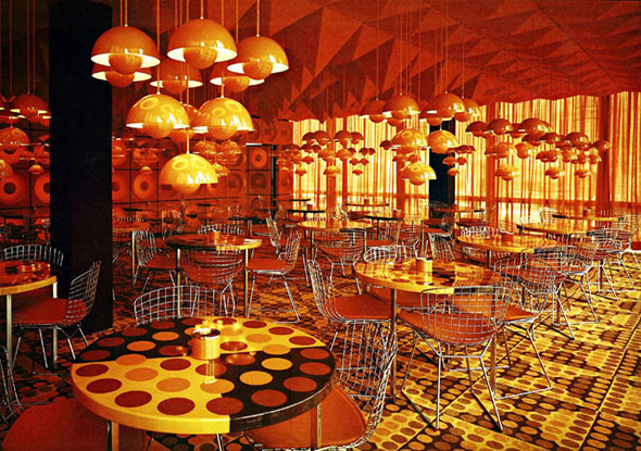 Interiors molecular mod pattern people for Spiegel verlagshaus