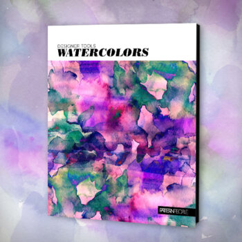 Designer Tools Watercolors - Assets for Designers by Pattern People