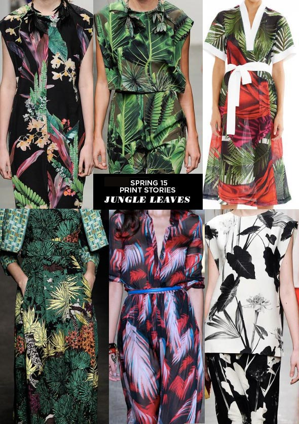 Ethnic and Tropical Prints from the Spring/Summer 2015 ...