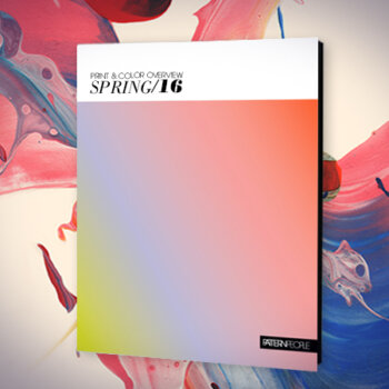 Spring 2016 Print & Color Trend Guide   Pattern People