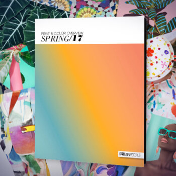 Pattern People | Spring/Summer 2017 Print & Color Trend Guide