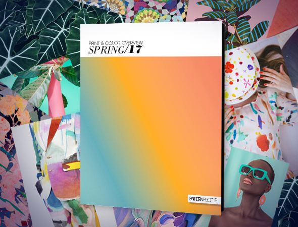print color trend guide spring 2017 pattern people