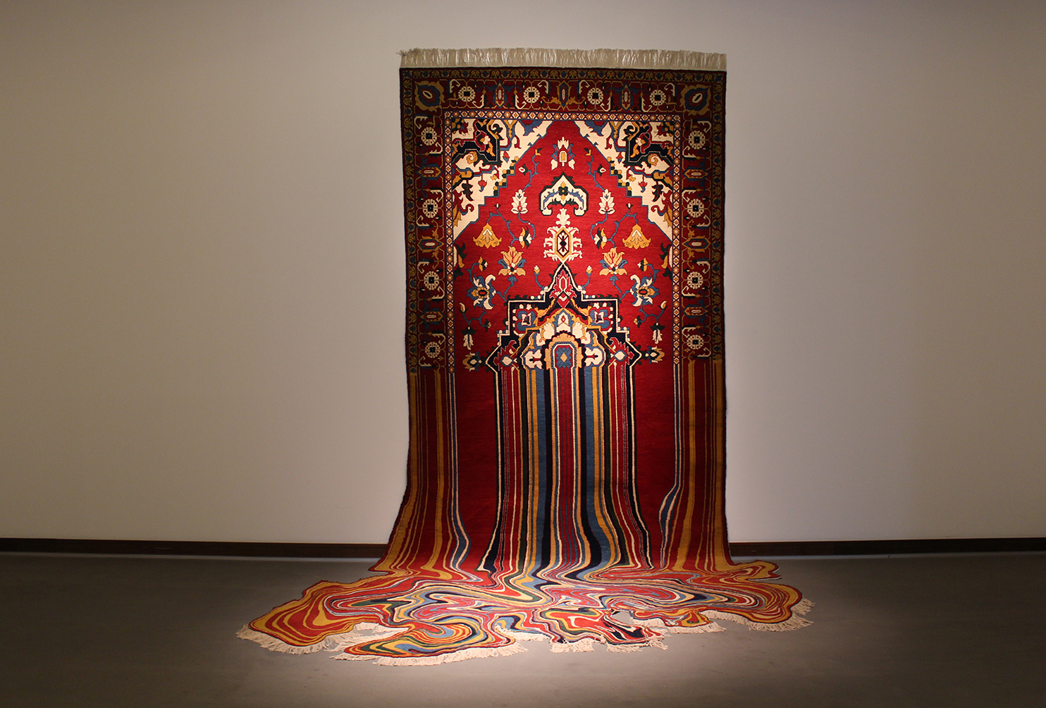 Arts Amp Culture Melting Rugs Pattern People