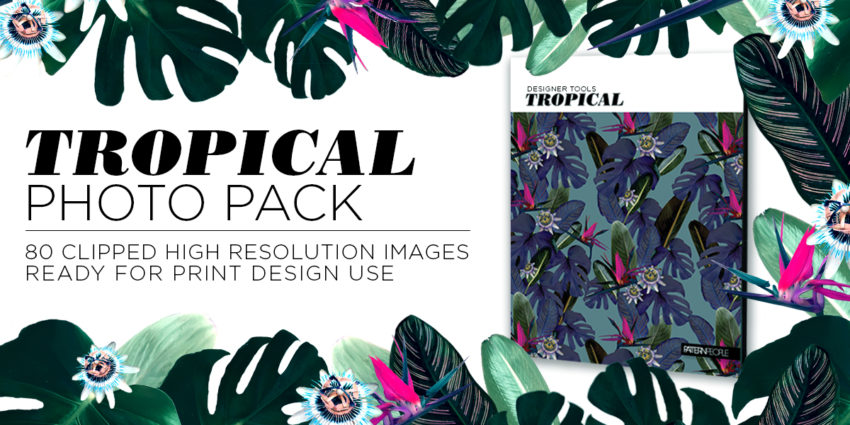Pattern People | High Resolution Tropical Photo Pack